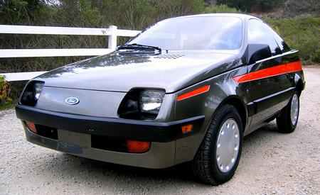 1982 Ghia Shuttler Concept Car