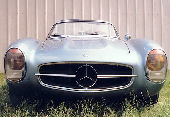 Scott grundfor co article 1955 300sls prototype for Mercedes benz classic car center