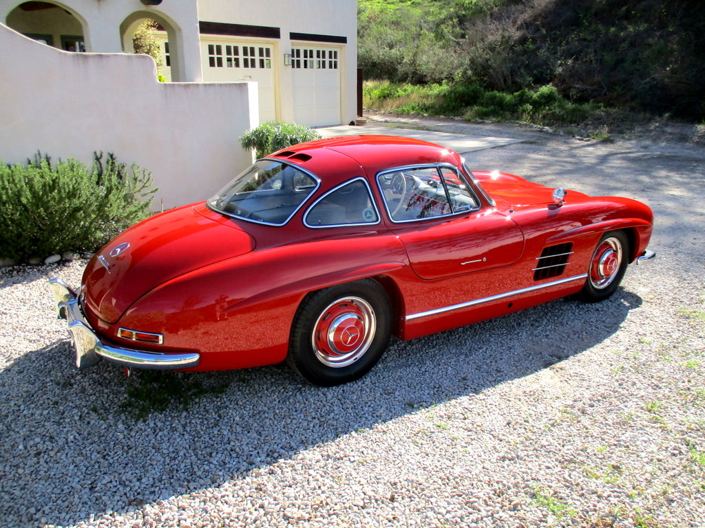 Sold 1955 mercedes benz 300sl gullwing scott grundfor for Mercedes benz 300sl gullwing for sale