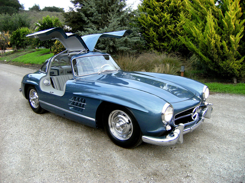 sold 1955 mercedes benz 300 sl gullwing scott grundfor