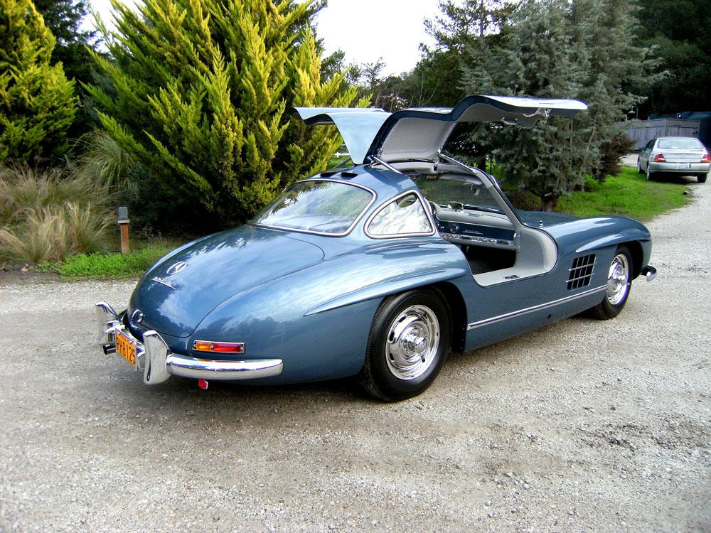Sold  1955 Mercedes Benz 300 Sl Gullwing