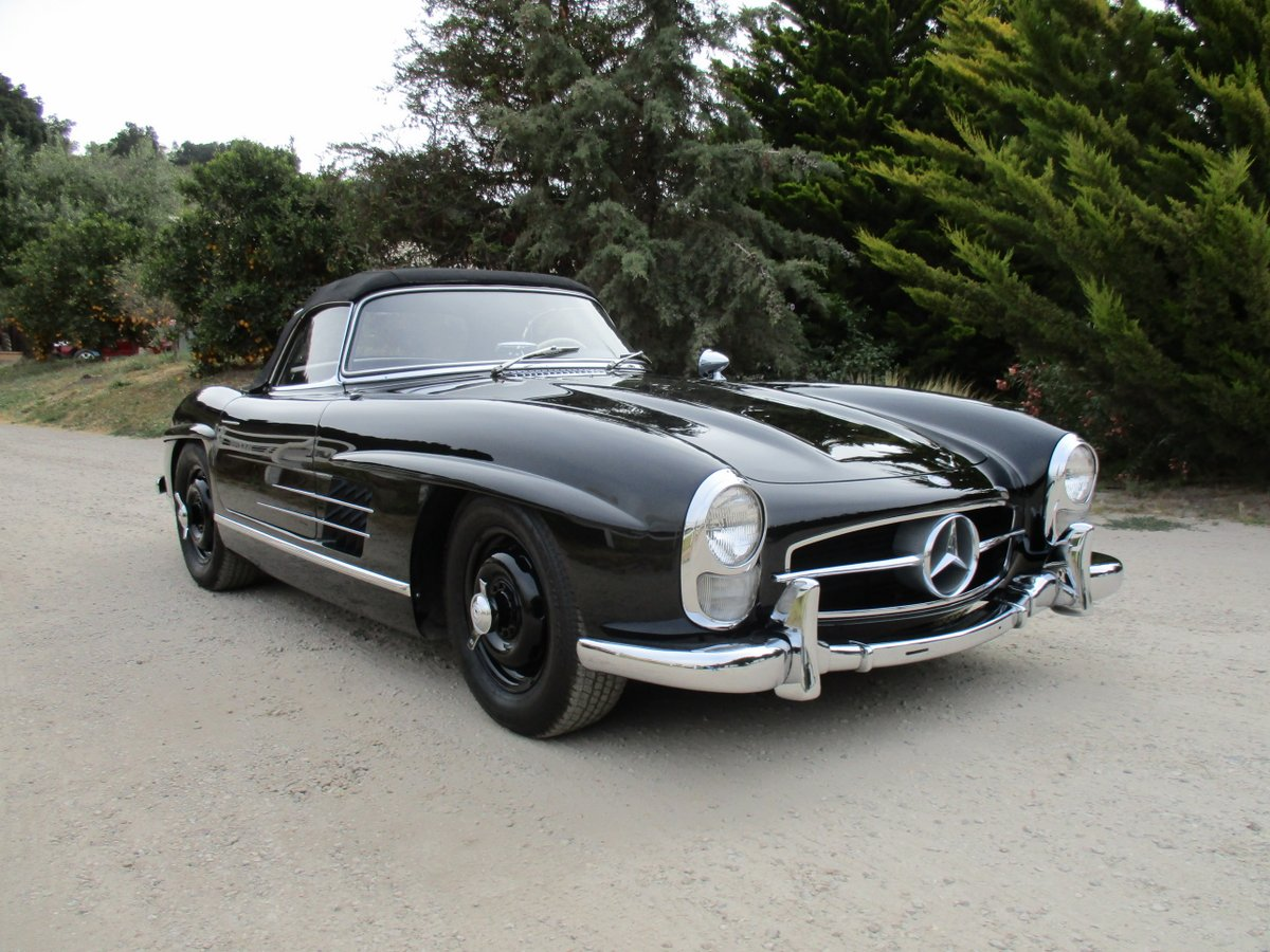 Sold 1957 mercedes benz 300sl roadster scott grundfor for Mercedes benz gullwing