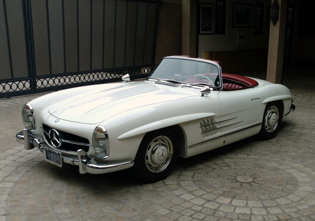 Sold 1963 mercedes benz 300sl alloy block roadster for Mercedes benz 300sl price