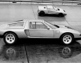 1969 Mercedes-Benz C111 with the C101 (above), the first test car in the line