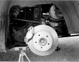 1969 Mercedes-Benz C111 Rear Suspension