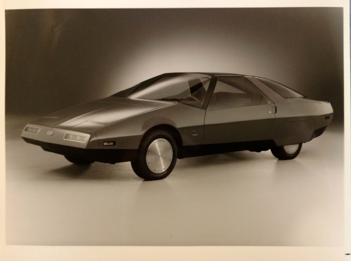 1979 ford probe 1 concept car image gallery scott grundfor company classic collectible. Black Bedroom Furniture Sets. Home Design Ideas