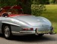 Silver Blue 1962 300SL Disc Brake Roadster 12