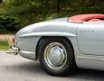 Silver Blue 1962 300SL Disc Brake Roadster 14