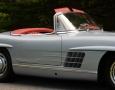 Silver Blue 1962 300SL Disc Brake Roadster 15