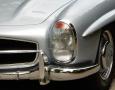 Silver Blue 1962 300SL Disc Brake Roadster 21
