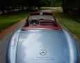 Silver Blue 1962 300SL Disc Brake Roadster 28