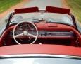 Silver Blue 1962 300SL Disc Brake Roadster 29