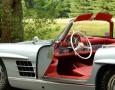 Silver Blue 1962 300SL Disc Brake Roadster 33