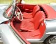 Silver Blue 1962 300SL Disc Brake Roadster 35