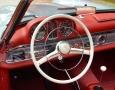 Silver Blue 1962 300SL Disc Brake Roadster 37