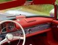 Silver Blue 1962 300SL Disc Brake Roadster 38