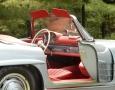 Silver Blue 1962 300SL Disc Brake Roadster 42