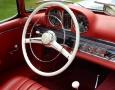 Silver Blue 1962 300SL Disc Brake Roadster 48