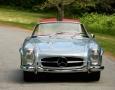 Silver Blue 1962 300SL Disc Brake Roadster 7