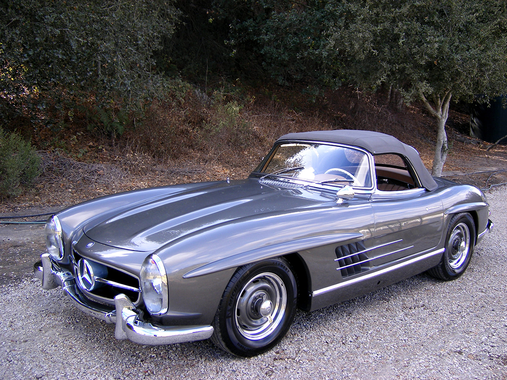 sold 1957 mercedes benz 300sl roadster scott grundfor