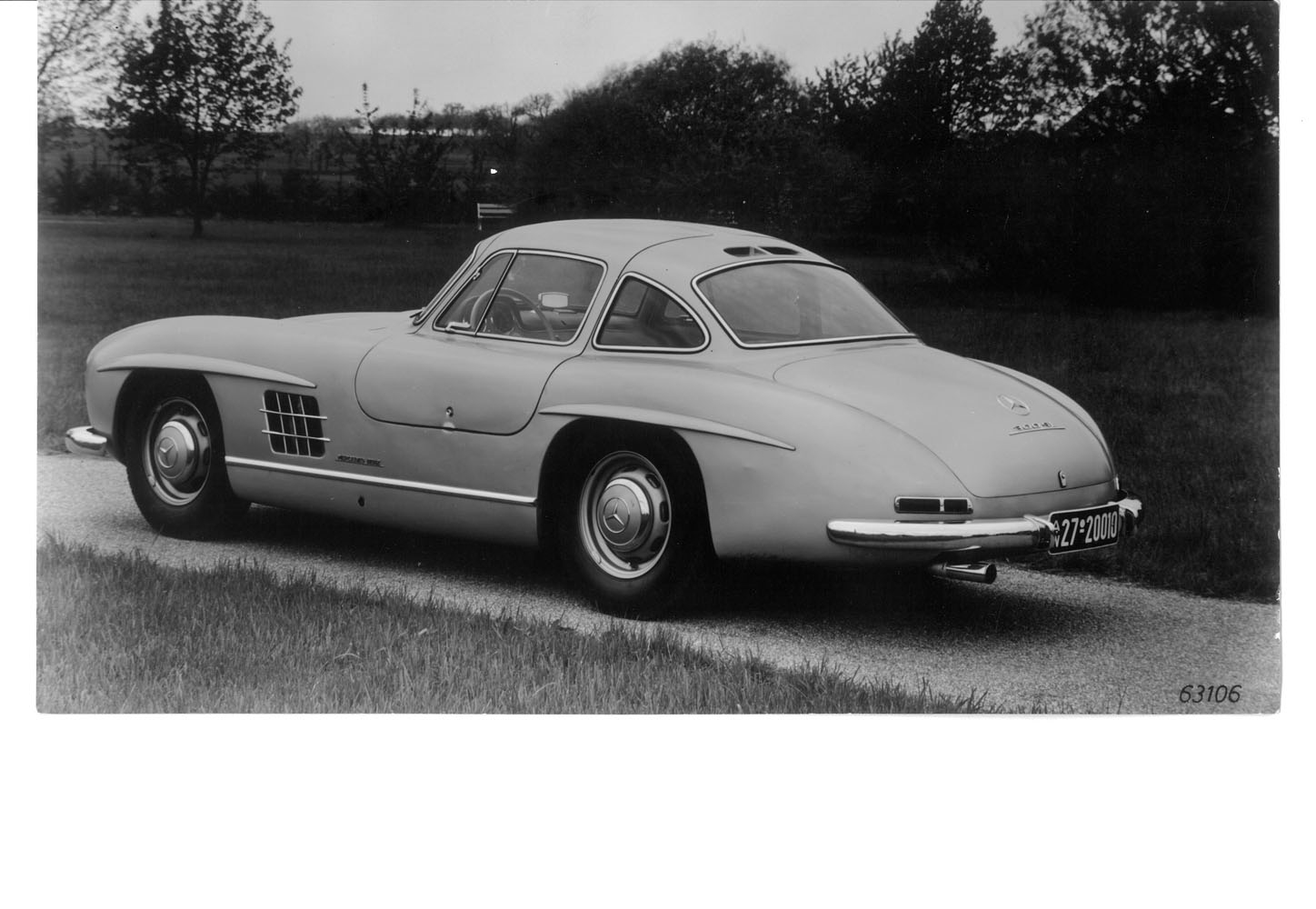 Prototype Mercedes Benz Gullwing Photo Gallery Scott
