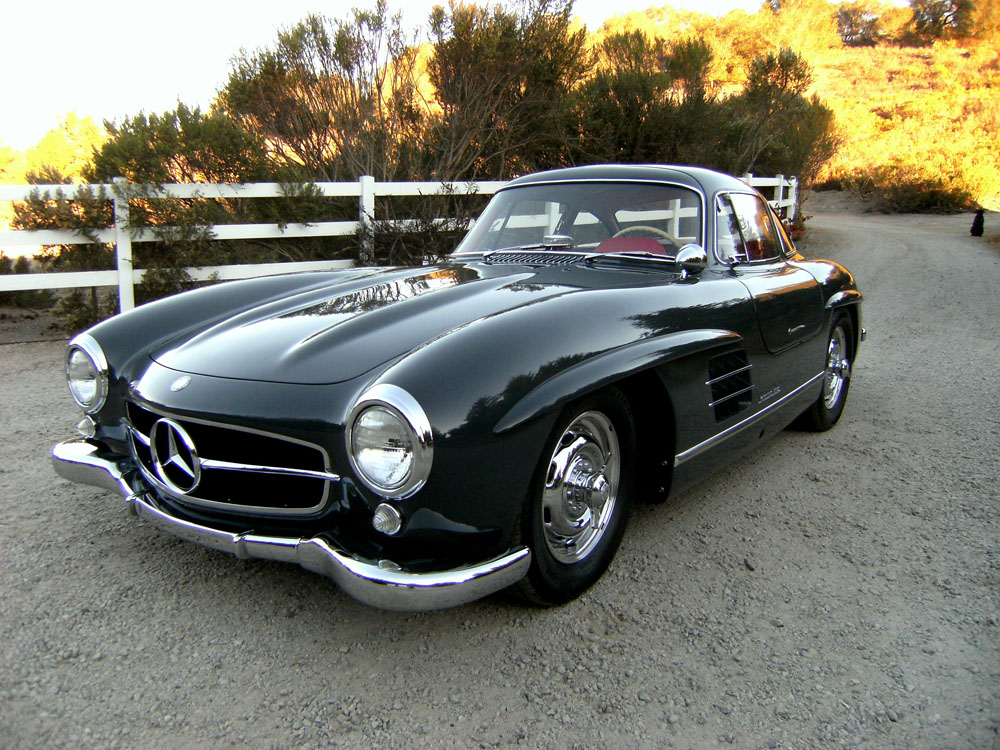 Sold 1957 mercedes benz 300 sl gullwing scott grundfor for Mercedes benz 300sl gullwing for sale