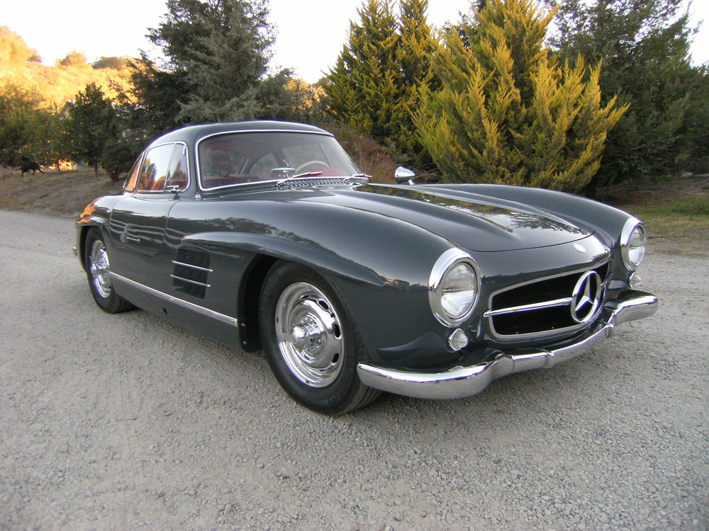Sold 1957 mercedes benz 300 sl gullwing scott grundfor for Mercedes benz 300sl price