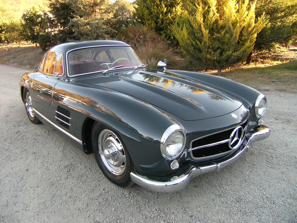 Sold 1957 mercedes benz 300 sl gullwing scott grundfor for 1957 mercedes benz 300sl