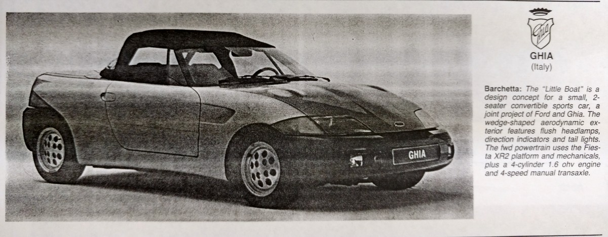 Ford Ghia Barchetta Concept Most Significant Sports Cars - Little sports cars
