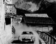Liege Rome Liege in 1956. Belgian's Mairesse/Genin in their 300SL near St. Lucia.
