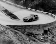 300SL number 56 car driven by Gendenbien/Stasse in the Alps, Liege Rome Liege 1955.