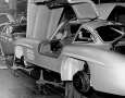Mercedes-Benz 300 SL in the factory