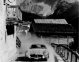 Mercedes-Benz 300SL near the Dolomite's near St. Lucia during Liege Rome Liege Rally.