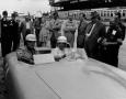 Hermann Lang at Nurburgring in August, 1953