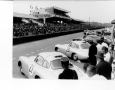 Mercedes SL's awaiting the start of the 24 Hours of Le Mans
