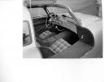 Mercedes Gullwing interior