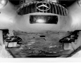 1952 Mercedes-Benz 300 SL W194 grille and undercarriage
