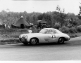 1952 24 Hours of Le Mans. The victorious Hermann Lang races through the curve.