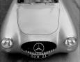 Kurt Worner photograph of the brand new 300 SL (super light) Mercedes.