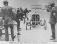 120 hp Mercedes racing car from 1908. Grand Prix of Frankenreich.