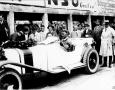 Otto Merz, winner of the Grand Prix of Deutschland in 1927. Mercedes Benz S at Nurburgring.
