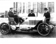 W.K. Vanderbilt Jr., considered to the be the richest man of hist day, in his 90 HP Mercedes