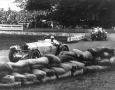 Rudolf Caracciola of Mercedes-Benz (no.3) in the Grand Prix of Ireland 1930
