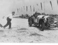 Mercedes SSK wins at the Grand Prix of Germany in 1928, Nurburgring.