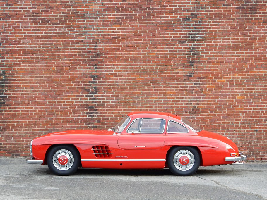 For sale 1955 mercedes benz 300sl gullwing coupe scott for Mercedes benz gullwing 1955