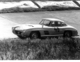 1000 KM Race at Nurburgring 1957. Reis/Schock  in win in their Mercedes 300 SL in the Grand Tourismo class at 1600 ccm.