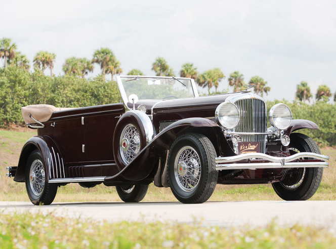 1934 Duesenberg Model SJ Convertible Sedan