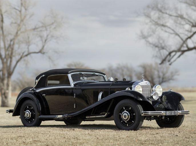 1935 Mercedes Benz 500-540 K Cab