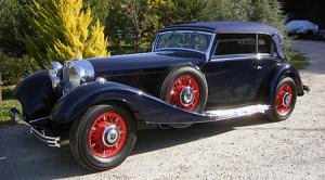 SOLD: 1938 Mercedes Benz 540K Cabriolet B