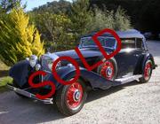 1938 Mercedes Benz 540k Cabriolet-sold